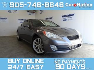 Used 2012 Hyundai Genesis Coupe 2.0 TURBO | LEATHER | SUNROOF | 6 SPEED M/T for sale in Brantford, ON