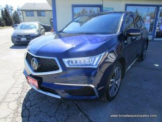 Used 2018 Acura MDX LOADED ALL-WHEEL DRIVE 7 PASSENGER 3.5L - SOHC.. BENCH & THIRD ROW.. NAVIGATION.. LEATHER.. HEATED SEATS.. POWER SUNROOF.. BACK-UP CAMERA.. for sale in Bradford, ON