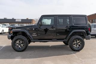 Used 2016 Jeep Wrangler Unlimited Sahara NAVI/DUAL TOP/ 3 INCH LIFT for sale in Concord, ON