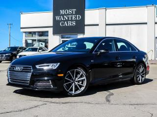 Used 2018 Audi A4 AWD|KOMFORT|S-LINE|NAV|CAMERA|SUNROOF for sale in Kitchener, ON