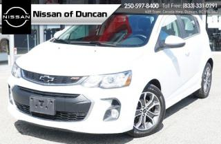 Used 2018 Chevrolet Sonic LT RS for sale in Duncan, BC