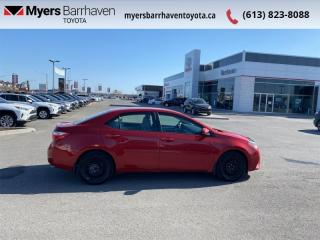 Used 2016 Toyota Corolla LE  -  Heated Seats -  Bluetooth - $81 B/W for sale in Ottawa, ON
