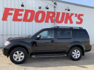 Used 2012 Nissan Pathfinder Silver Edition 4WD for sale in Headingley, MB