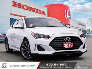 Used 2019 Hyundai Veloster 2.0 GL BACK-UP CAMERA | APPLE CARPLAY™ & ANDROID AUTO™ for sale in Cambridge, ON