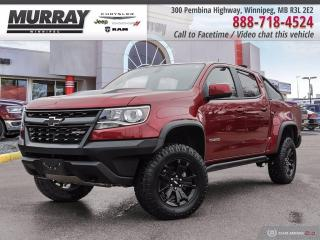 Used 2018 Chevrolet Colorado 4x4 Crew ZR2 *One Owner Local Trade   Low kms* for sale in Winnipeg, MB