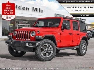 New 2020 Jeep Wrangler Unlimited Sahara for sale in North York, ON
