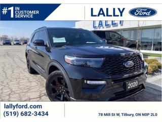 Used 2020 Ford Explorer ST for sale in Tilbury, ON