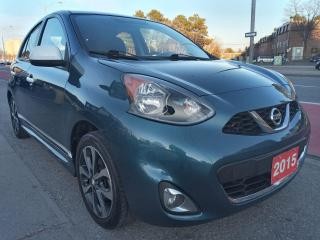 Used 2015 Nissan Micra SR-ONE OWNER- 69K-BK UP CAM-BLUETOOTH-USB-ALLOYS for sale in Scarborough, ON