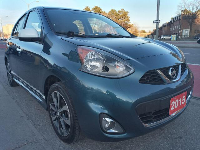 2015 Nissan Micra SR-ONE OWNER- 69K-BK UP CAM-BLUETOOTH-USB-ALLOYS