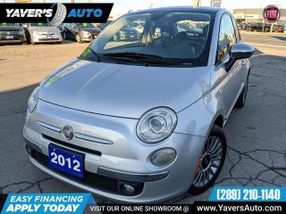 Used 2012 Fiat 500 Lounge for sale in Hamilton, ON