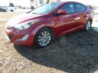 Used 2016 Hyundai Elantra sport berline 4 portes for sale in St-Isidore, QC