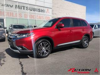 Used 2016 Mitsubishi Outlander GT+CUIR+TOIT+AWD+MAGS 18+A/C+SIÈGE ÉLECTRIQUE for sale in St-Hubert, QC