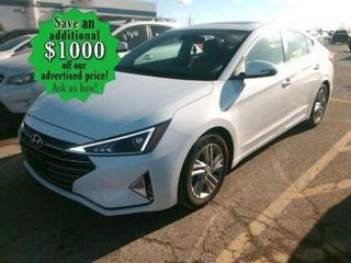 Used 2019 Hyundai Elantra Preferred* Sunroof/Blind Spot Assist/HEATED SEATS for sale in Winnipeg, MB