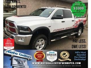Used 2015 RAM 2500 Power Wagon* 4WD/Satellite Radio/NAVIGATION for sale in Winnipeg, MB