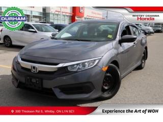 Used 2018 Honda Civic LX FWD CVT 2.0L for sale in Whitby, ON