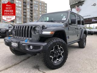 New 2021 Jeep Wrangler Unlimited 4xe Rubicon It's the 4XE!! for sale in North York, ON