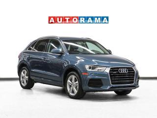 Used 2016 Audi Q3 Progressiv Quattro Leather Panoramic Sunroof for sale in Toronto, ON