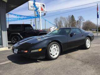 Used 1991 Chevrolet Corvette Coupe for sale in Welland, ON