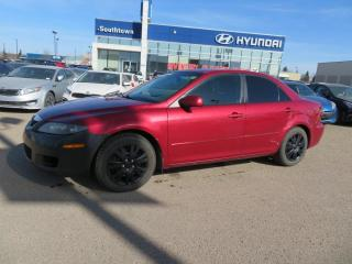 Used 2007 Mazda MAZDA6 GS/AC/ALLOYS/POWER OPTIONS for sale in Edmonton, AB