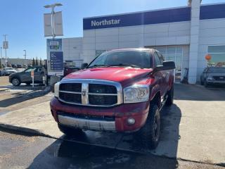 Used 2007 Dodge Ram 3500 LARAMIE/DIESEL/MEGACAB/LEATHER/NAV/SUNROOF/HEATEDSEATSSTEERING for sale in Edmonton, AB