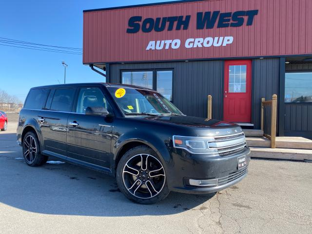 2013 Ford Flex Limited|NAV|BackUp|QuadSunroof|Htd Lthr Seats
