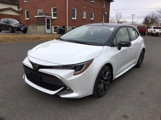 New 2021 Toyota Corolla Hatchback XSE WITH BLACK ROOF! for sale in Cobourg, ON