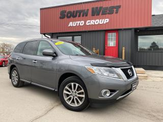 Used 2016 Nissan Pathfinder S|RemoteStarter|4WD|7Pass|Cruise|SteeringWheelCtrl for sale in London, ON