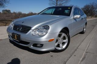 Used 2005 Mercedes-Benz C-Class 1 OWNER / NO ACCIDENTS / LOW KM'S / KOMPRESSOR for sale in Etobicoke, ON