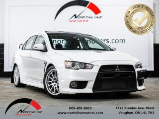 Used 2015 Mitsubishi Lancer Evolution GSR Final Edition/Numbered #0333/Manual/Recaro for sale in Vaughan, ON