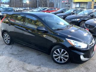 Used 2015 Hyundai Accent SE/AUTO/ROOF/LOADED/ALLOYS for sale in Scarborough, ON