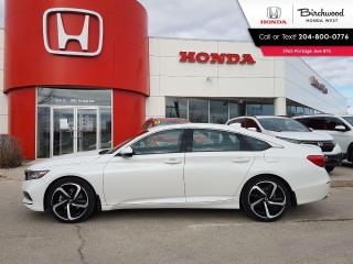 Used 2020 Honda Accord Sport Apple CarPlay - Android Auto - Heated Seats for sale in Winnipeg, MB
