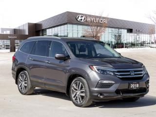 Used 2018 Honda Pilot Touring | Entertainment Package | Navigation | for sale in Winnipeg, MB