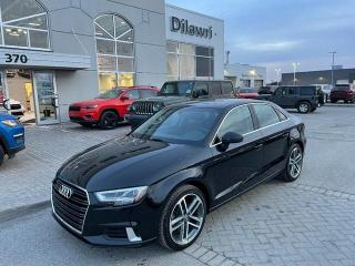 Used 2018 Audi A3 2.0T Technik for sale in Nepean, ON