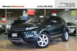 Used 2012 Land Rover Range Rover Evoque PURE PLUS - PANOROOF|NAVIGATION|BACKUP|MERIDIAN for sale in North York, ON