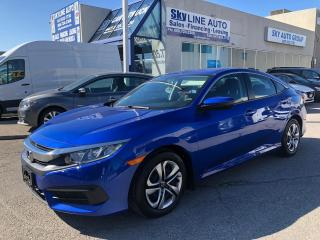 Used 2017 Honda Civic LX APPLE CARPLAY|ANDROIN AUTO|CAMERA for sale in Concord, ON