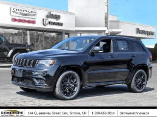 New 2021 Jeep Grand Cherokee LIMITED X | HITCH | NAV | SUNROOF for sale in Simcoe, ON