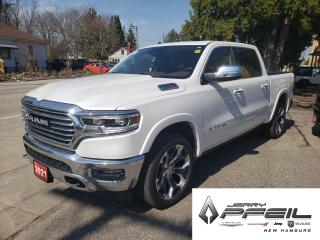 New 2021 RAM 1500 LIMITED LONGHORN l ECO DIESEL l NAV l PANO ROOF for sale in New Hamburg, ON