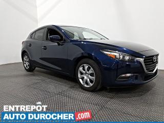 Used 2018 Mazda MAZDA3 Sport GX - Climatiseur- Caméra de Recul - for sale in Laval, QC