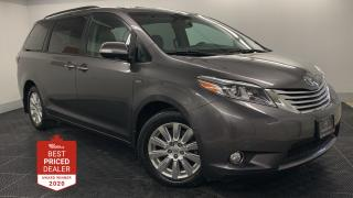 Used 2017 Toyota Sienna XLE LIMITED AWD *NAVIGATION - LEATHER - DVD* for sale in Winnipeg, MB