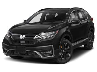 Used 2021 Honda CR-V BLACK EDITION DEMONSTRATOR for sale in Cornwall, ON