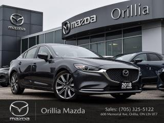 Used 2018 Mazda MAZDA6 SIGNATURE for sale in Orillia, ON