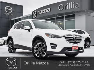 Used 2016 Mazda CX-5 GT for sale in Orillia, ON