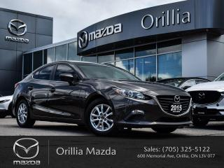 Used 2015 Mazda MAZDA3 GS for sale in Orillia, ON