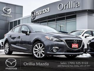 Used 2015 Mazda MAZDA3 GT for sale in Orillia, ON