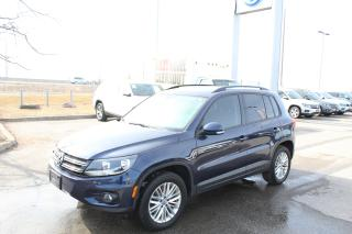 Used 2016 Volkswagen Tiguan 2.0T Special Edition 4Motion for sale in Whitby, ON