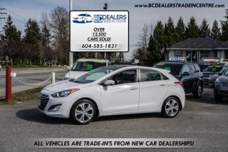 Used 2013 Hyundai Elantra GT Local, 4-Cylinder, Leather Heated Seats, Sunroof, Loaded for sale in Surrey, BC
