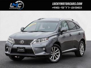 Used 2015 Lexus RX 350 AWD SPORTDESIGN-SUNROOF-BACKUP CAMERA-LEATHER-CERTIFIED for sale in Toronto, ON