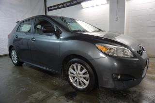 Used 2010 Toyota Matrix CERTIFIED 2YR WARRANTY *FREE ACCIDENT* CRUISE ALLOYS AUX POWER OPTIONS for sale in Milton, ON