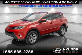 Used 2015 Toyota RAV4 XLE AWD + GARANTIE + TOIT + CAMERA + WOW for sale in Drummondville, QC
