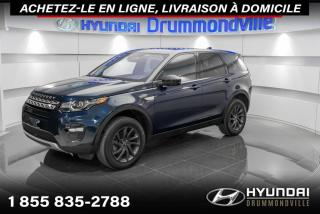 Used 2017 Land Rover Discovery Sport HSE + GARANTIE + NAVI + TOIT PANO + WOW for sale in Drummondville, QC